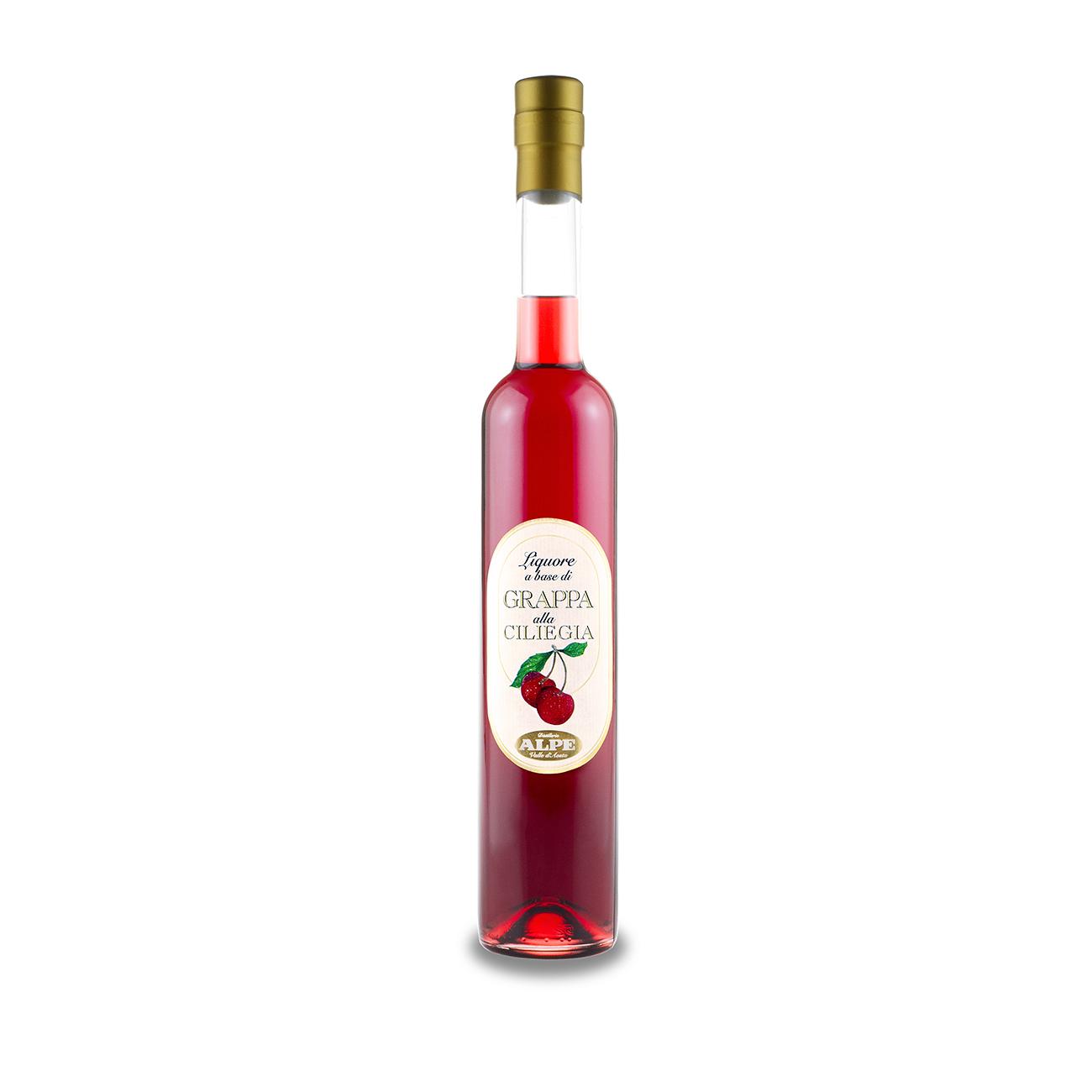 Liquore base grappa alla ciliegia